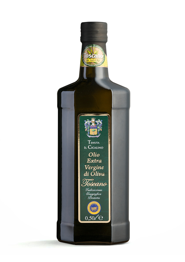 Tuscan Extra Virgin Olive Oil from Tenuta Il Cicalino